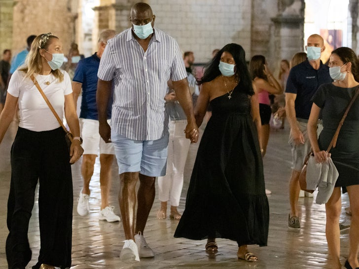 Magic Johnson Hits Croatia On Annual Baller Summer Trip