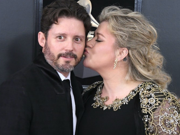 Kelly Clarkson and Brandon Blackstock -- Happier Times