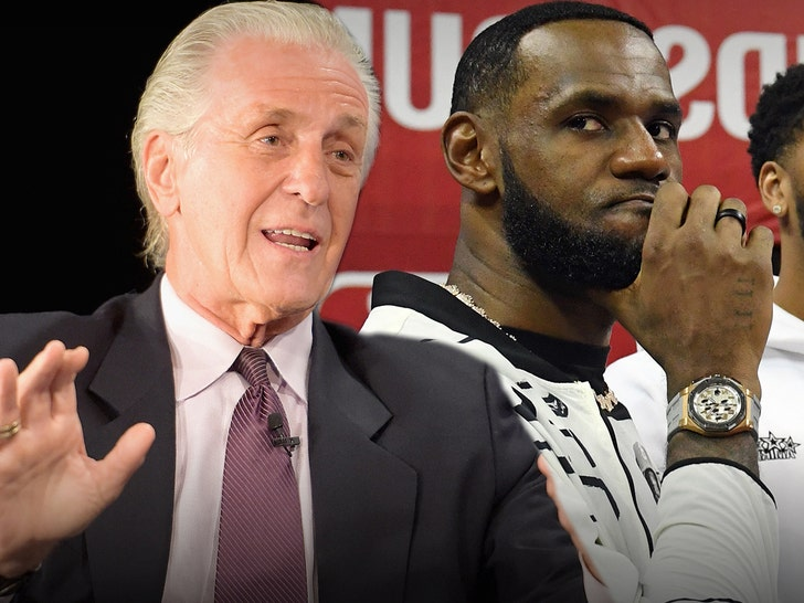 Pat Riley Fined $25k For Talking LeBron James Reunion In Miami, That's Tampering!.jpg