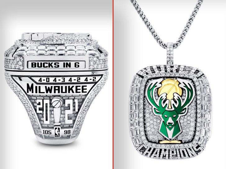 Milwaukee Bucks' 2021 Championship Rings