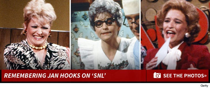 Remembering Jan Hooks on 'SNL'
