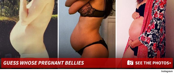 Guess the Pregnant Bellies!