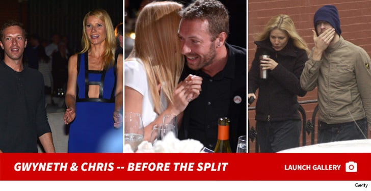 Gwyneth Paltrow and Chris Martin -- Before the Split