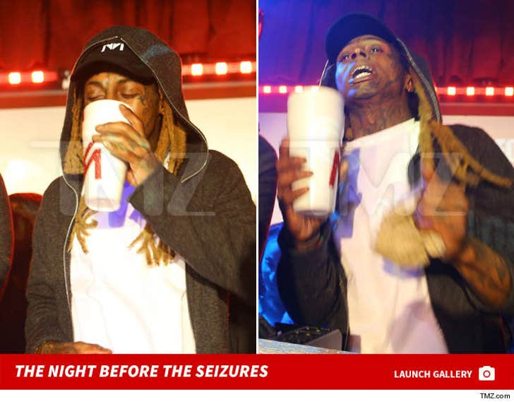 Lil Wayne -- Double Cup the Night Before Seizure