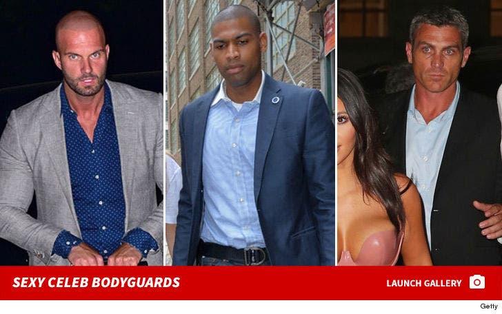 Hot Celeb Bodyguards -- Guardian ANGELS!