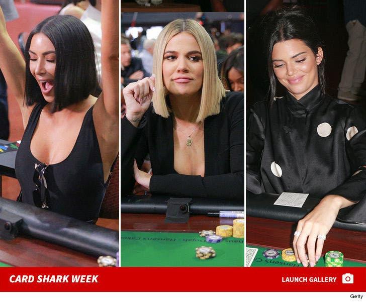 Kardashian Family -- Card Shark Week
