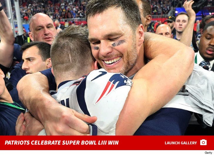 New England Patriots Celebrate Super Bowl LIII Win