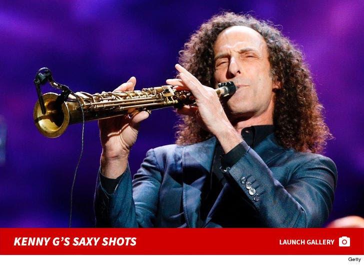 Kenny G's Saxy Photos