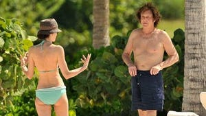 Paul McCartney Goes Topless