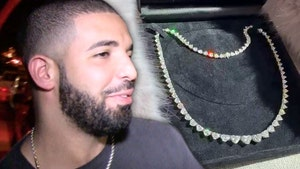 Drake Breaks Bank On Heart-Shaped Necklace, Matching Bling With Future