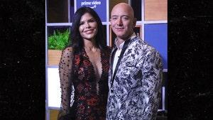 Jeff Bezos and Lauren Sanchez's First Movie Event Arrival as a Couple