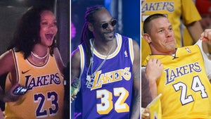 Famous Lakers Fans -- Get Ready For Game 3!