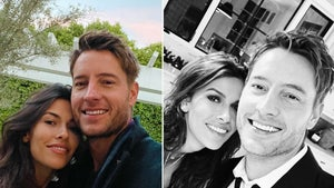 Justin Hartley Reveals New Girlfriend Sofia Pernas On New Year's Eve