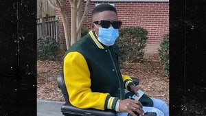 Boosie Votes for First Time in Georgia Senate Runoff, in a Wheelchair
