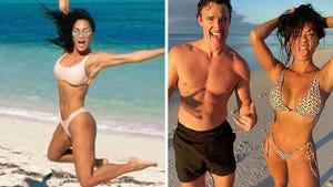 Nicole Scherzinger's Turks and Caicos Getaway