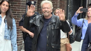 Richard Branson Gets Space Hero's Welcome in NYC