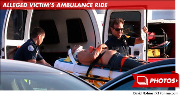 Scottie Pippen -- Alleged Victim's Ambulance Ride After Beatdown