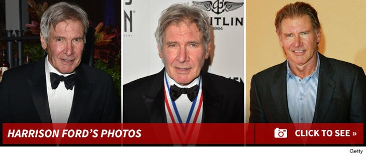 Harrison Ford -- Through The Years