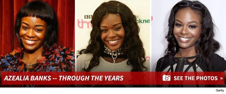 Azealia Banks -- Through the Years