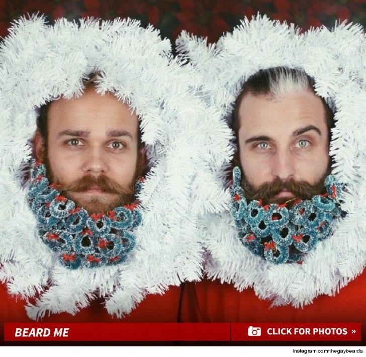 'Tis The Season -- For X-Mas Glitter Beards