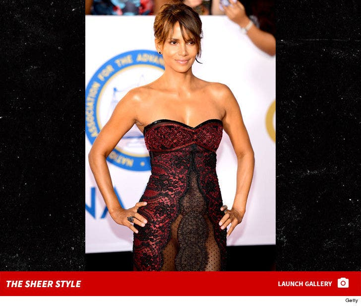 Halle Berry's Sheer Style at NAACP Image Awards