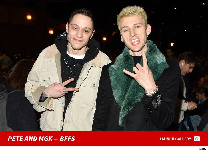 Pete Davidson And MGK Together -- BFFs