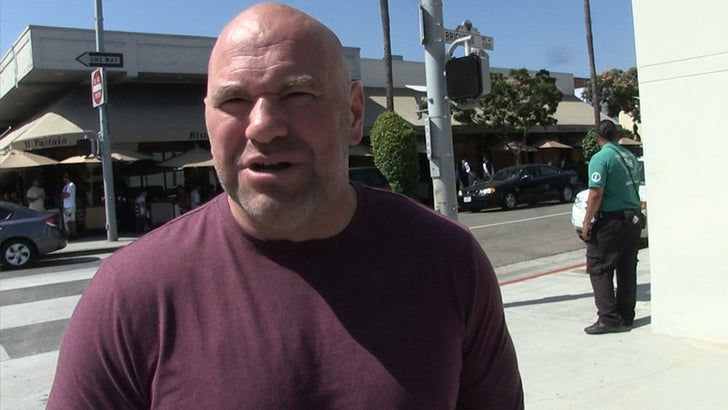 Dana White Impressed with Urijah Faber, 'He Ain't Too Old!'