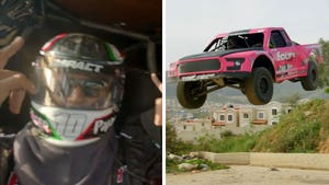 Lil Jon Does Insanely Dangerous Joyriding With Baja 1000 Winner