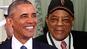 Barack Obama Praises Willie Mays In B-Day Post, You Paved The Way For My Presidency!