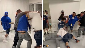 Bears And Rams Fans Get In Violent Brawl In Bowels Of SoFi Stadium