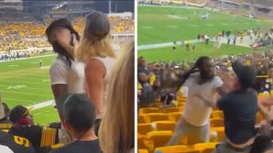 Woman In Violent Fight At Steelers Game Cited For Disorderly Conduct