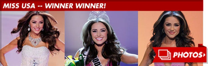 Miss USA -- Winner Winner!