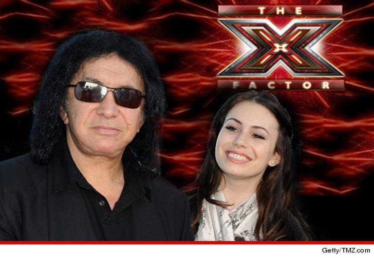 Gene Simmons -- Last Minute Father's Day Trip to 'X Factor