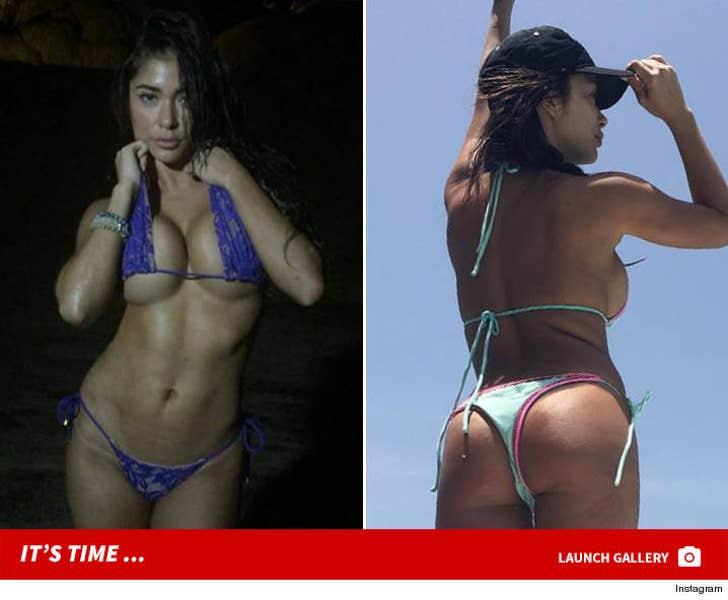UFC's Arianny Celeste -- Hot Bikini Shots In Puerto Rico