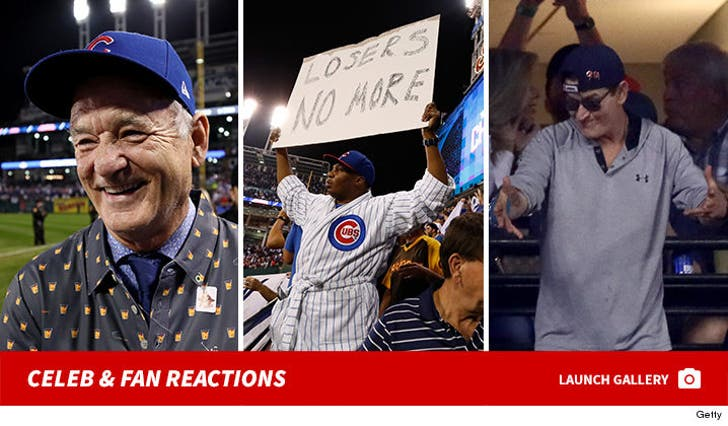 World Series -- Celebrity and Fan Reactions