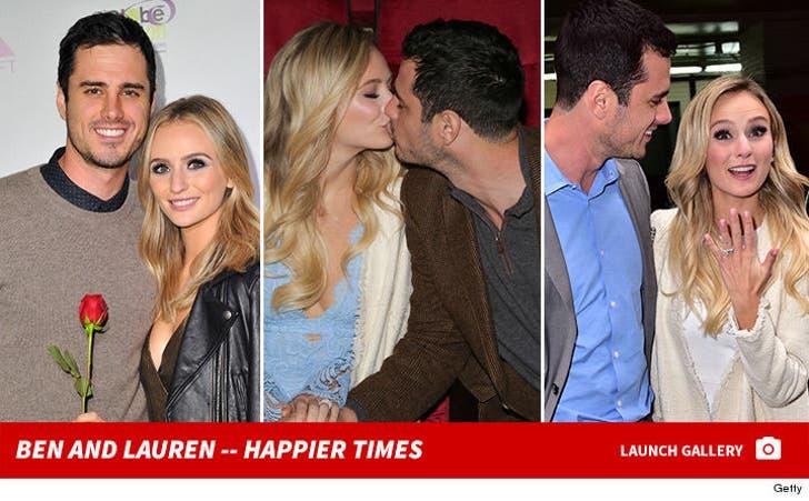 Ben and Lauren -- Happier Times
