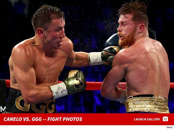 Canelo vs. GGG -- Fight Photos