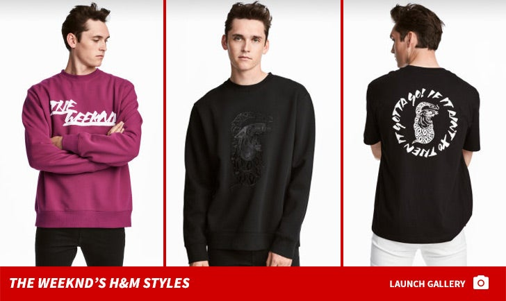 The Weeknd's H&M Fashion
