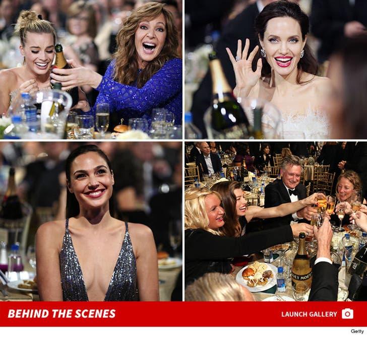 2018 Critics' Choice Awards -- Behind the Scenes