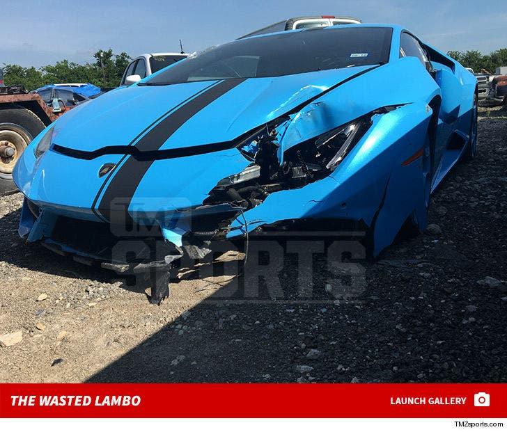 Terrance Williams Crash Scene