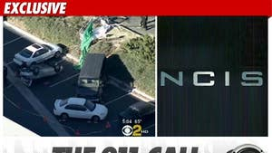 'NCIS' Crash 911 -- 'A Car Hit One of My Co-Workers'