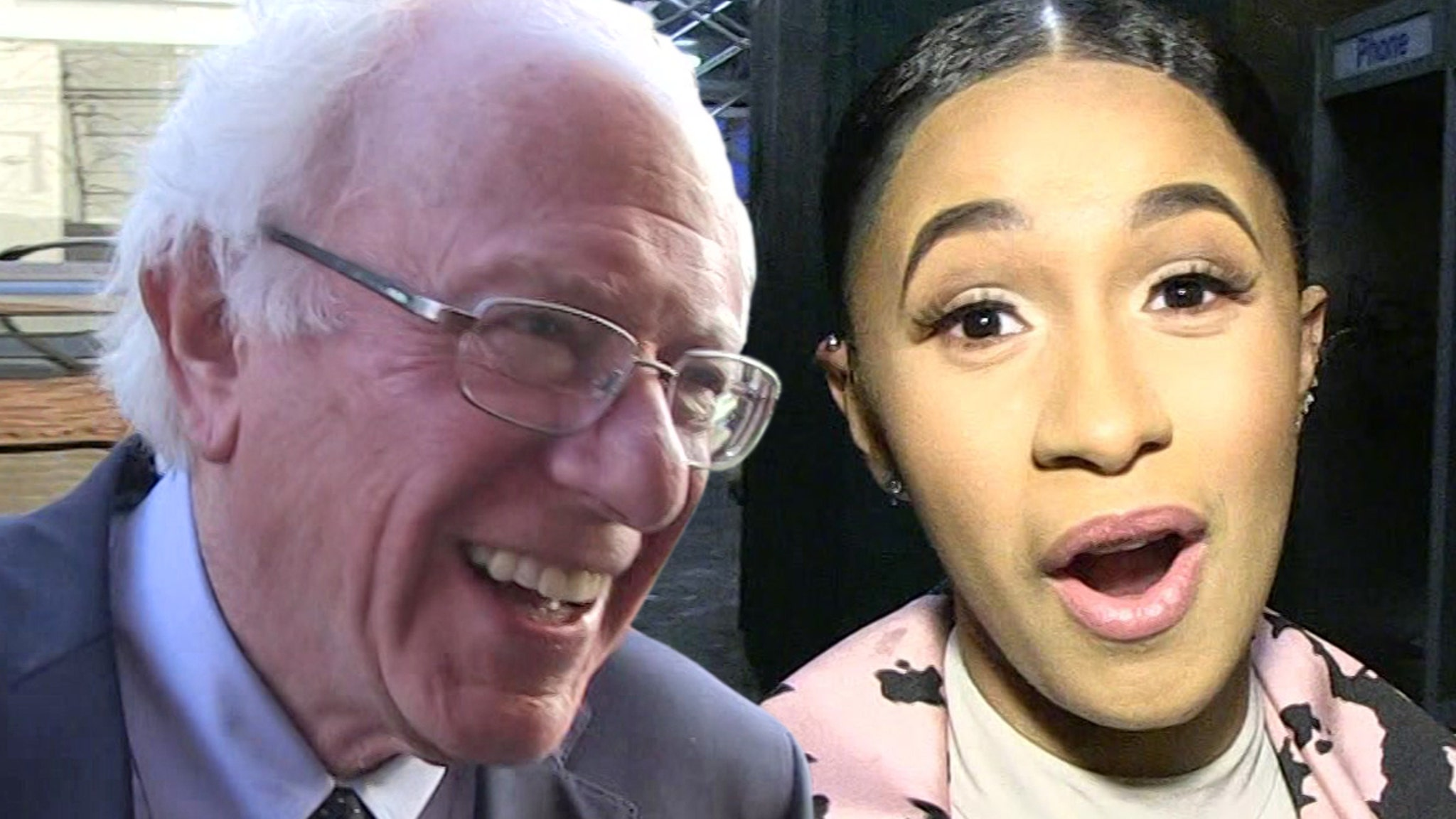 Bernie Sanders Encourages Cardi B to Enter Politics, 'It Would Be Great'