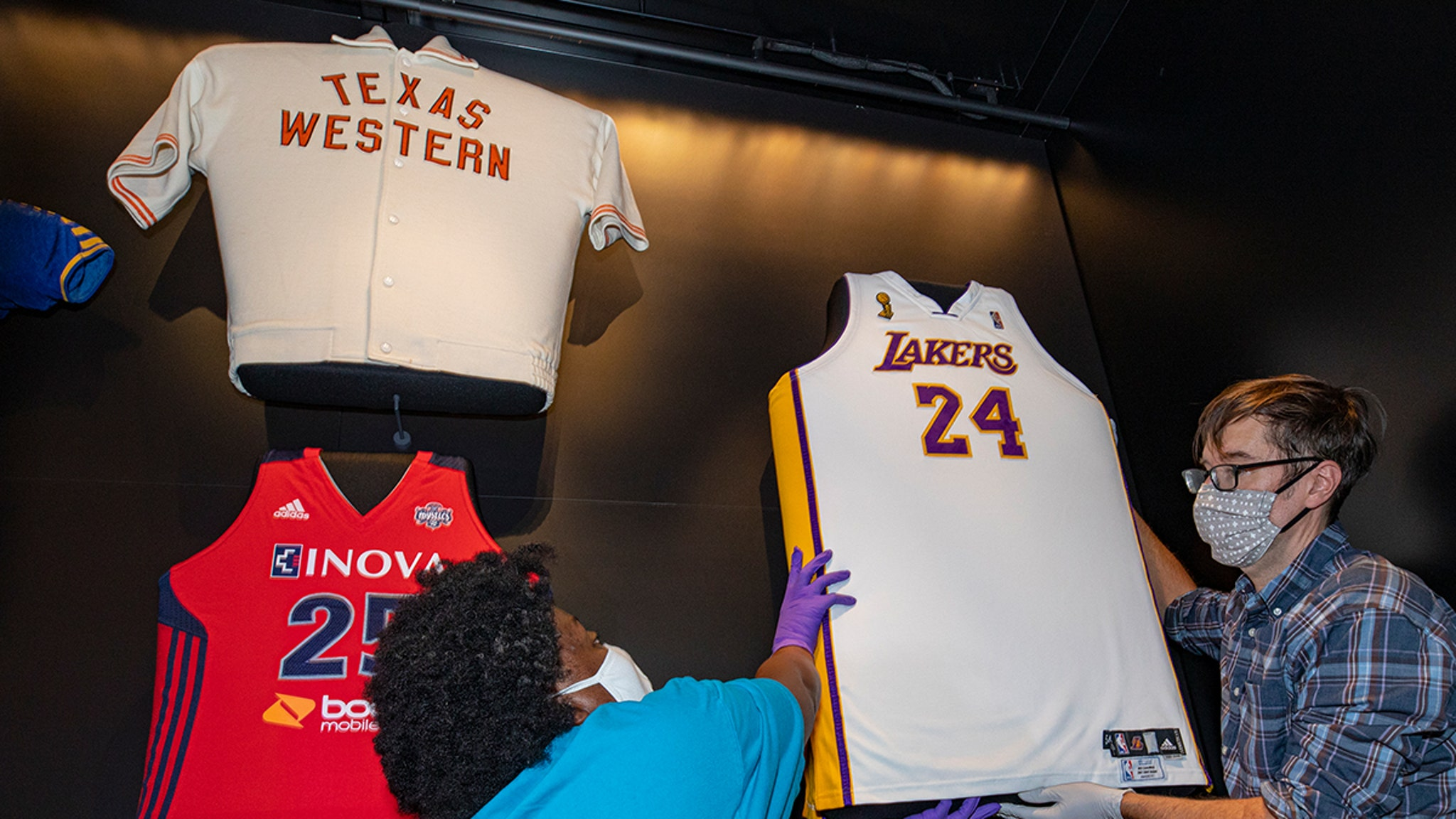 Kobe Bryant '08 NBA Finals Jersey Displayed At Smithsonian's African American History Museum