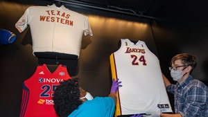 Kobe's NBA Finals Jersey Displayed at Smithsonian's African American History Museum