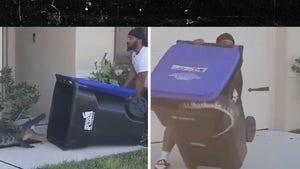 Florida Man Captures Alligator in Trash Can