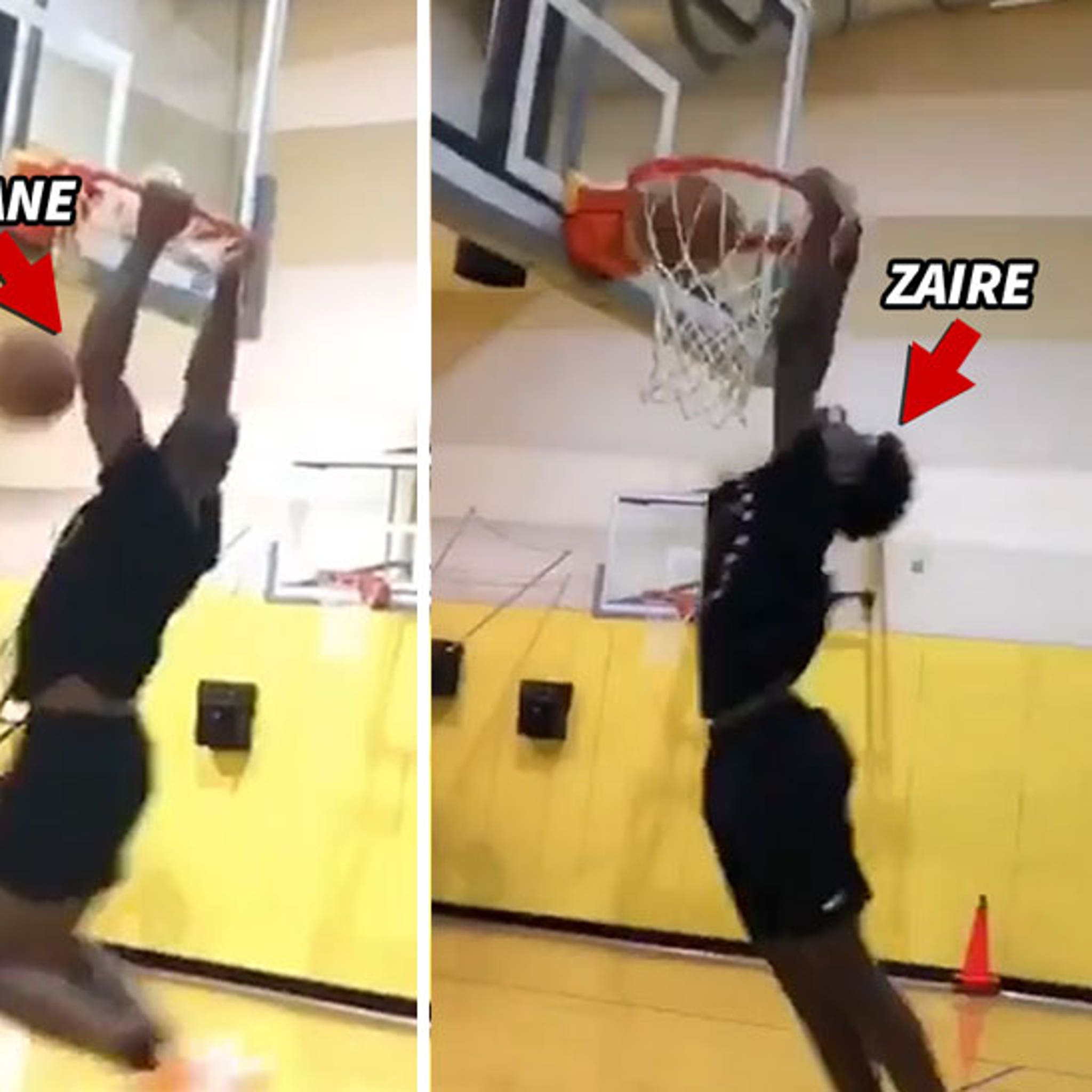 Dwyane Wade Has Father/Son Lob Sesh With 16-Year-Old Son Zaire