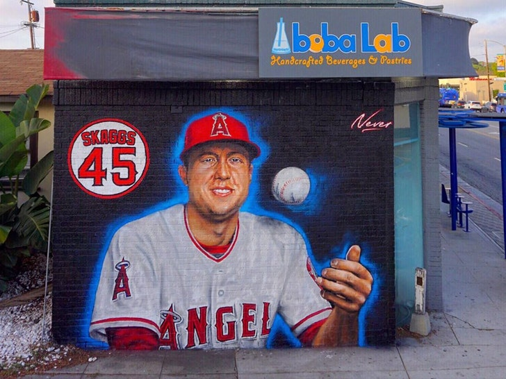 Tyler Skaggs Immortalized With Mural Near His Old L.A. High School