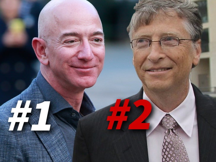 Jeff Bezos Regains World's Richest Person Title From Bill Gates