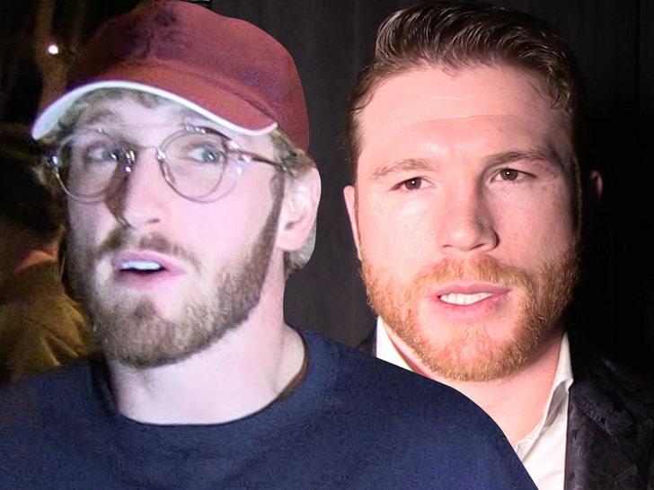 Logan Paul se dejó ir con todo sobre el Canelo, luego de que este cuestionara a los YouTubers como boxeadores profesionales