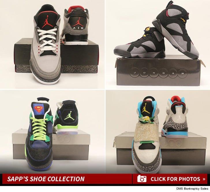 Warren Sapp Shoe Collection!